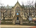 SE2933 : Mill Hill Unitarian Church and gateway by Alan Murray-Rust