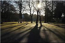 SX9164 : Basketball court, Upton Park by Derek Harper