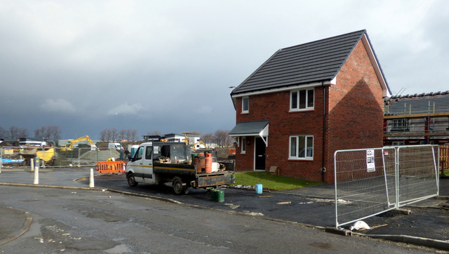New houses on New Inchinnan Road