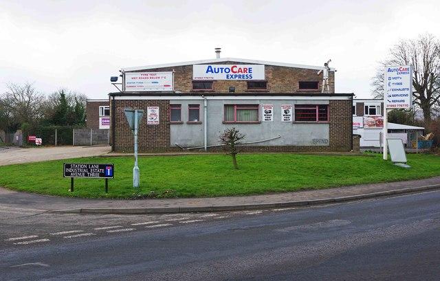 AutoCare Express, Unit 1, Avenue Three, Station Lane, Witney, Oxon