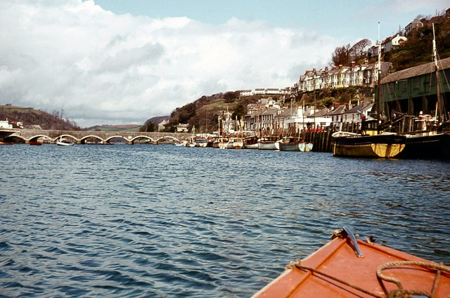 Boating On The River Looe