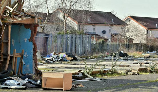 Proposed social housing, Beersbridge Road, Belfast - March 2018(4)