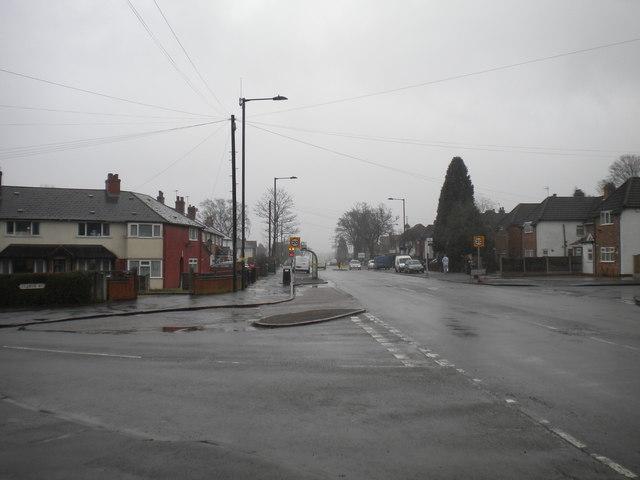 Bus turning circle, School Road, Yardley Wood