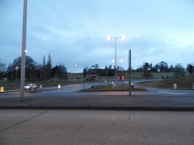 Junction on Honiton Road, Exeter