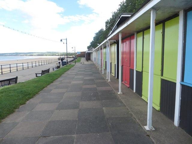 Beach huts, Filey