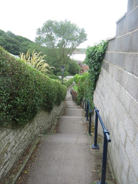 Steps to the beach, Filey