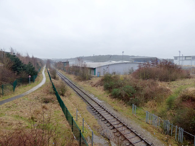 Middleton Railway south from John Charles Approach