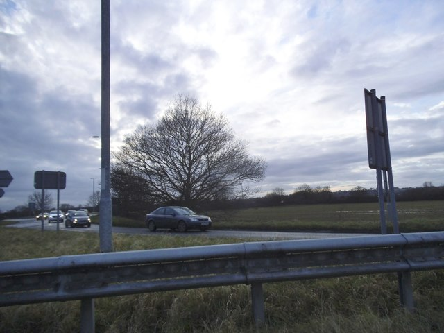The Podimore Roundabout on the A37