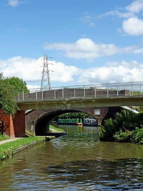 Kettlebrook Bridge near Tamworth in Staffordshire