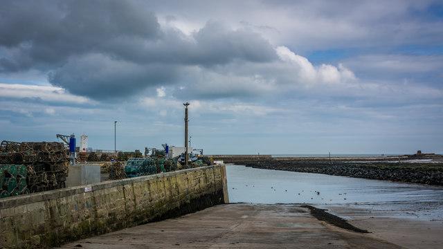Slipway at Seahouses