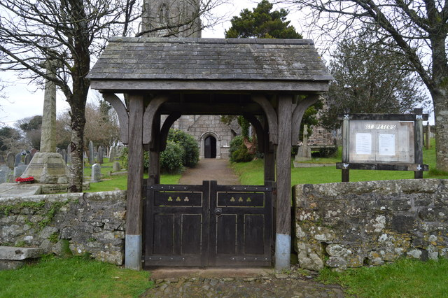 Lych gate, Church of St Peter