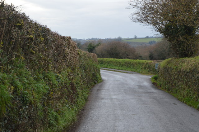 Road out of Peter Tavy