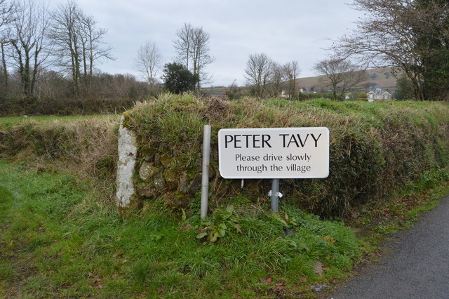 Entering Peter Tavy