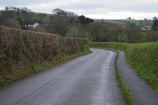 A Devon lane