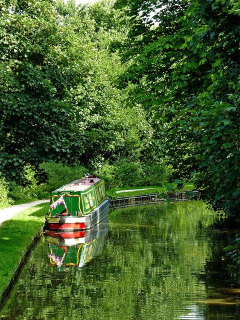 Coventry Canal near Alvecote in Staffordshire