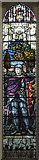 TQ2470 : Emmanuel, Ridgway, Wimbledon - Stained glass window by John Salmon