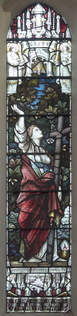 Emmanuel, Ridgway, Wimbledon - Stained glass window
