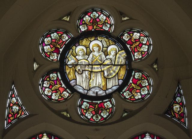 Emmanuel, Ridgway, Wimbledon - Stained glass window