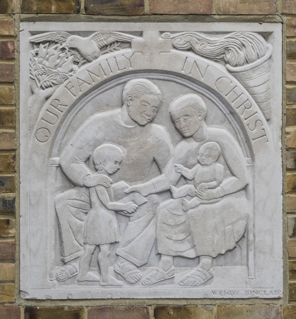 St Mark, St Mark's Place, Wimbledon - Plaque