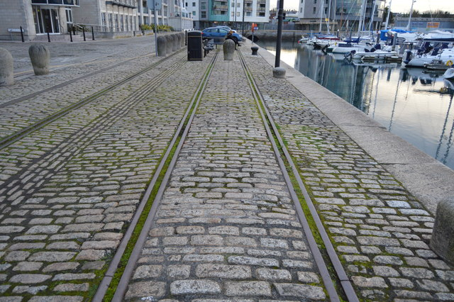 Disused tracks, North Quay