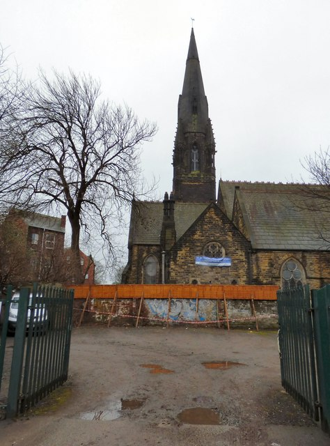 St Augustine's Wrangthorne viewed from Victoria Road