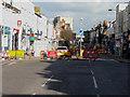 TR2235 : Roadworks, Sandgate Road by John Baker