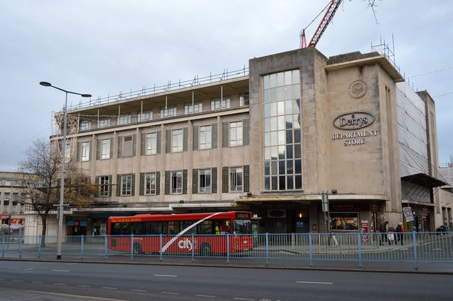 Former Derrys Department Store
