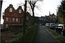TQ1587 : Harrow School buildings, Peterborough Road, Harrow-on-the-Hill by Christopher Hilton