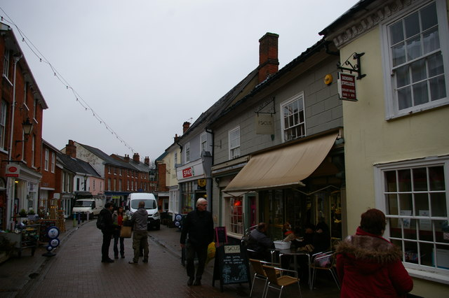 Thoroughfare, Halesworth