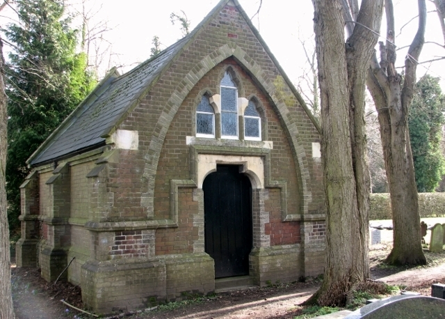 Mortuary chapel in the Jewish Section
