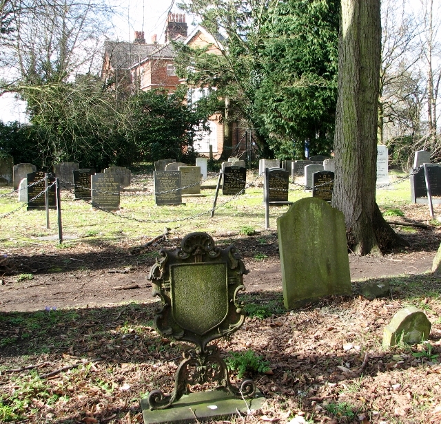 Graves in the Jewish Section