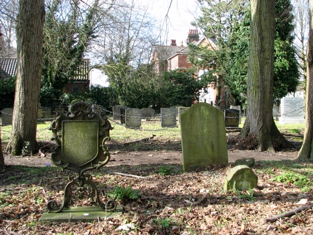 Headstones in the Jewish Section