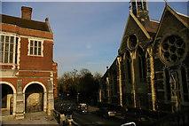 TQ1587 : Harrow School and chapel by Christopher Hilton