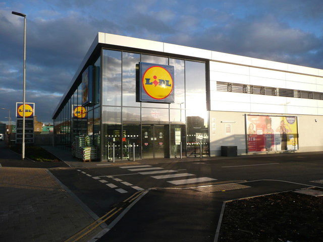 The new Lidl supermarket, Wakefield Road, Brighouse