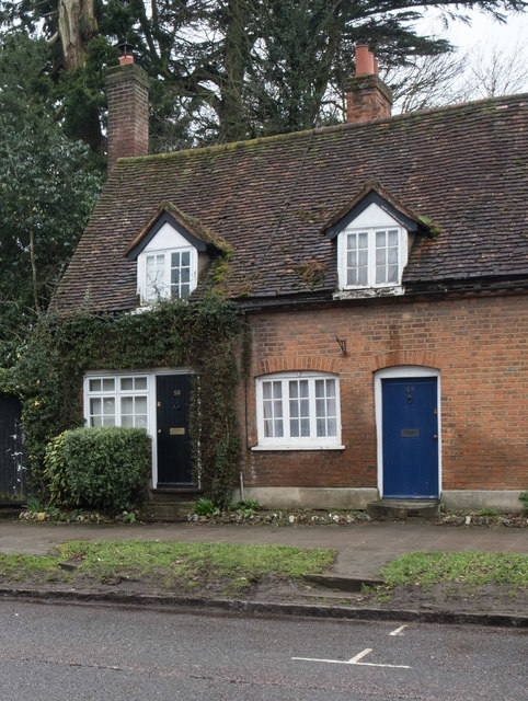Terraced cottage, King's Langley