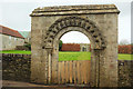 ST6367 : Norman archway, Queen Charlton by Derek Harper
