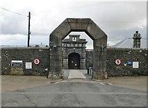 SX5874 : Gateway to Dartmoor Prison by Eirian Evans