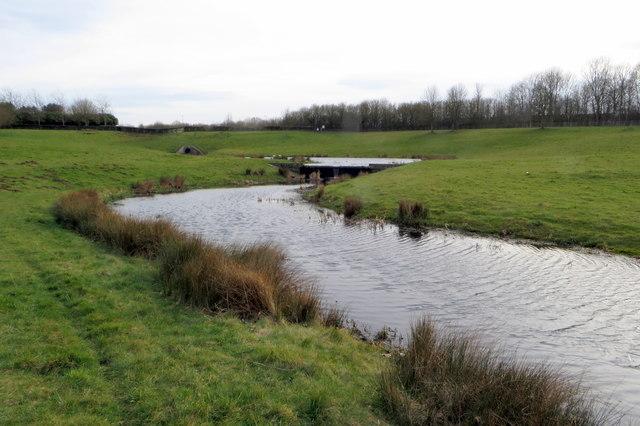 Wolverton Mill balancing lake