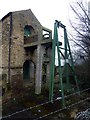 SK4395 : Westfield Pumping Pit Newcomen Engine House by Graham Hogg