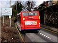 SO2801 : Stagecoach bus enters Penygarn, Pontypool by Jaggery