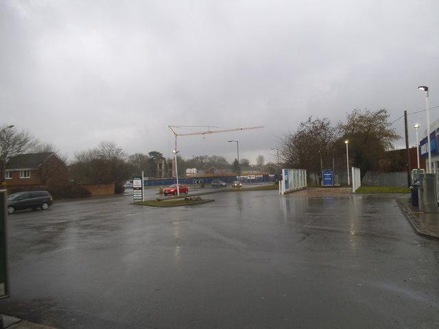 Petrol station on the A361, Devizes