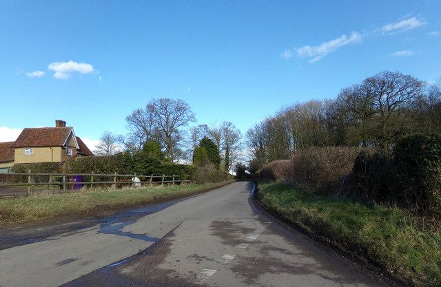 Back Lane, King's Walden