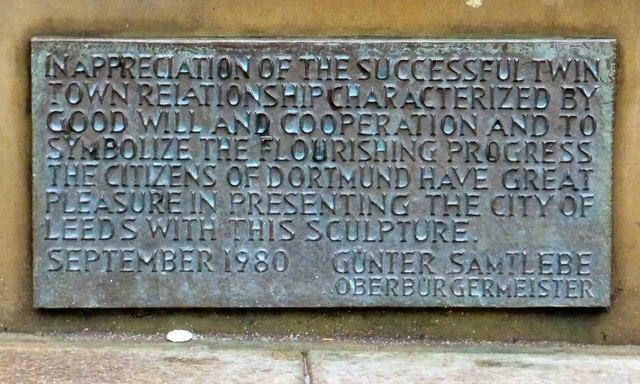 The Dortmund Drayman: Inscription