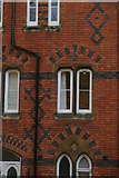 TQ1587 : Victorian detailing, Harrow School buildings, Grove Hill by Christopher Hilton