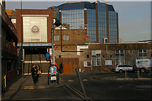 TQ1588 : Southern entrance, Harrow-on-the-Hill station by Christopher Hilton