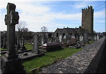 SN4201 : Church and churchyard, Pembrey by Jaggery