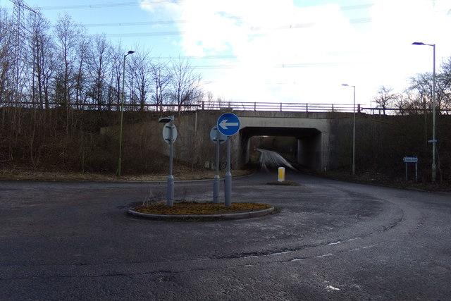 Chantry Lane Roundabout