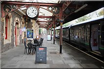 SO7845 : Cafe on the platform by Philip Halling