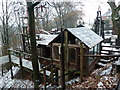 SD7208 : Fred Dibnah Heritage Centre in the snow by Chris Allen