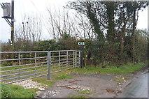 SY0088 : Footpath off Bond's Lane by N Chadwick